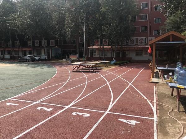 邢台宁晋第五中学操场
